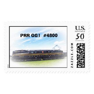 Pennsylvania Railroad GG-1 #4800 Side View Postage