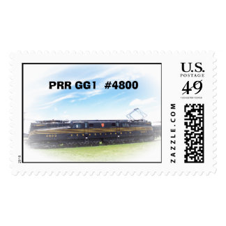 Pennsylvania Railroad GG-1 #4800 Side View Postage