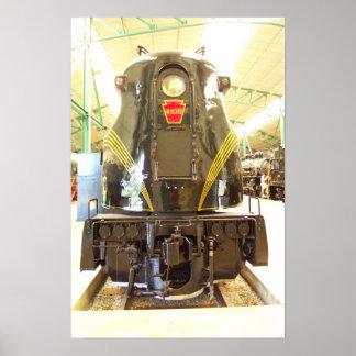 Pennsylvania Railroad GG-1 Locomotive # 4935 Poster