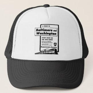 Pennsylvania Railroad Hourly Trains 1948 Trucker Hat