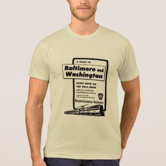 Pennsylvania Railroad Hourly Trains 1948 Shirt