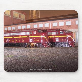 Pennsylvania Railroad (JTFS)Night Photo Shoot Mouse Pad