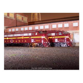 Pennsylvania Railroad (JTFS)Night Photo Shoot Post Cards