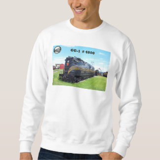 Pennsylvania Railroad Locomotive GG-1 #4800 -2- Sweatshirt