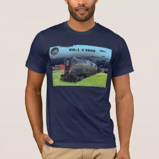 Pennsylvania Railroad Locomotive GG-1 #4800 -2- T-Shirt