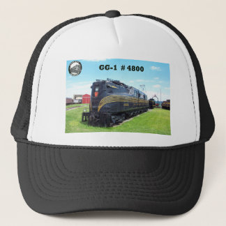Pennsylvania Railroad Locomotive GG-1 #4800 -2- Trucker Hat