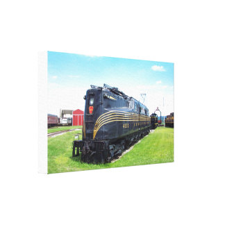 Pennsylvania Railroad Locomotive GG-1 #4800 Canvas Print