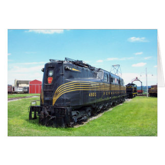 Pennsylvania Railroad Locomotive GG-1 4800 Greeting Cards