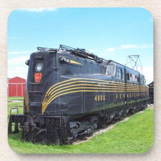 Pennsylvania Railroad Locomotive GG-1 #4800 Beverage Coasters