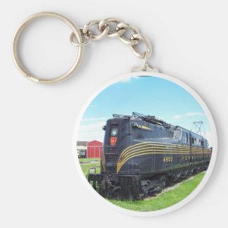 Pennsylvania Railroad Locomotive GG-1 #4800 Keychain