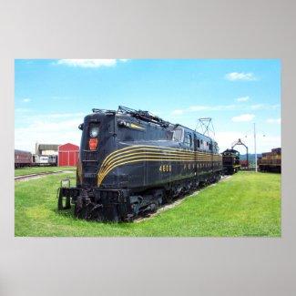 Pennsylvania Railroad Locomotive GG-1 #4800 print