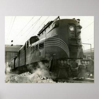 Pennsylvania Railroad Locomotive GG-1 #4800 Poster