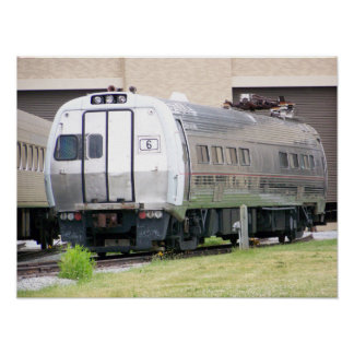 Pennsylvania Railroad Metroliner  #860 Poster