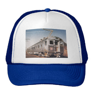 Pennsylvania Railroad Silverliner Electric Coach Mesh Hats