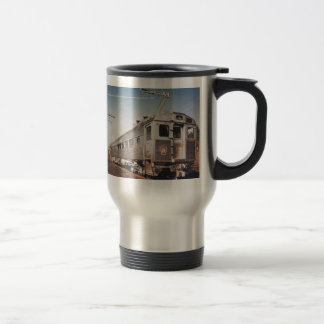 Pennsylvania Railroad Silverliner Electric Coach Travel Mug