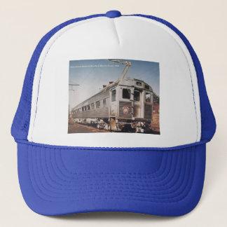 Pennsylvania Railroad Silverliner Electric Coach Trucker Hat