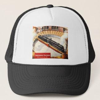 Pennsylvania Railroad Steam Turbine Trucker Hats