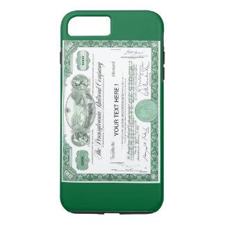 Pennsylvania Railroad Stock Certificate iPhone 8 Plus/7 Plus Case