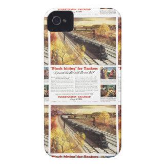 Pennsylvania Railroad Tanker Trains 1942 Case-Mate iPhone 4 Case