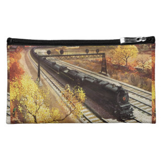 Pennsylvania Railroad Tanker Trains 1942 Cosmetic Bag