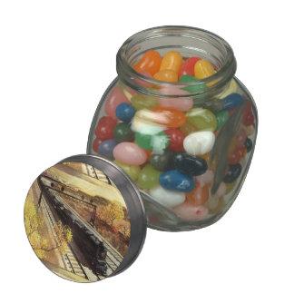 Pennsylvania Railroad Tanker Trains 1942 Glass Candy Jars