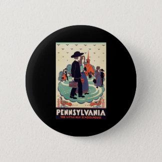 Pennsylvania Railroad The Little Red Schoolhouse Button