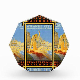 Pennsylvania Railroad to Atlantic City Acrylic Award