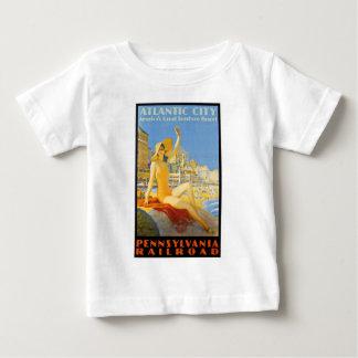 Pennsylvania Railroad to Atlantic City Baby T-Shirt