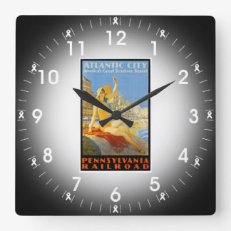 Pennsylvania Railroad to Atlantic City Wall Clock