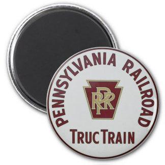 Pennsylvania Railroad TrucTrain Service Magnet