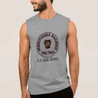 Pennsylvania Railroad TrucTrain Service Sleeveless Shirt