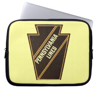 Pennsylvania Railroad Vintage Logo Laptop Sleeve