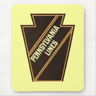Pennsylvania Railroad Vintage Logo Mousepad