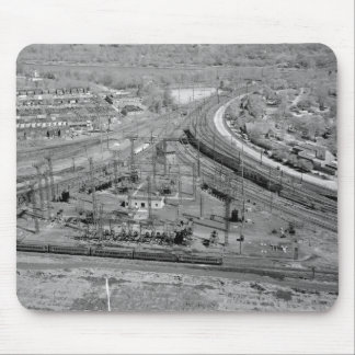 Pennsylvania Railroad Zoo Junction Mouse Pad