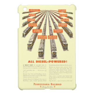 Pennsylvania Railroads East - West Now all Diesel iPad Mini Cases