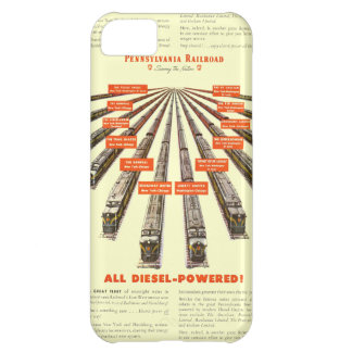 Pennsylvania Railroads East-West Now all Diesel iPhone 5C Cover