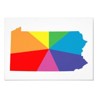 pennsylvania rainbow array card