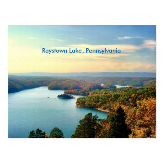 Pennsylvania Raystown Lake Postcard