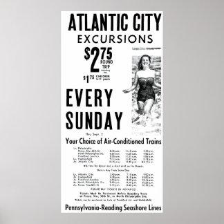 Pennsylvania-Reading Seashore Lines 1962 Poster