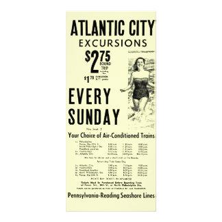 Pennsylvania-Reading Seashore Lines 1962 Rack Card