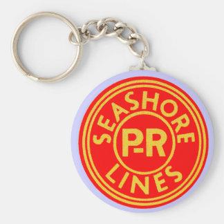 Pennsylvania Reading Seashore Lines Logo Keychain