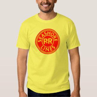 Pennsylvania Reading Seashore Lines Logo Shirt