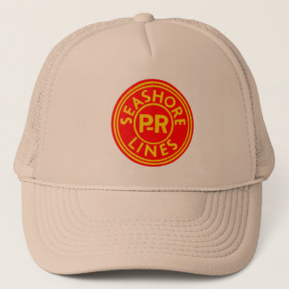 Pennsylvania-Reading Seashore Lines Logo Trucker Hat