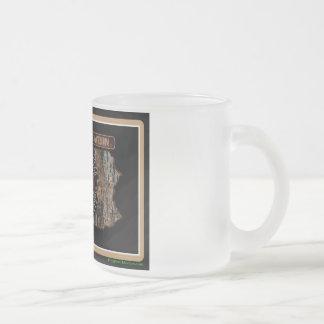 Pennsylvania Rig Up Camo Frosted Glass Coffee Mug