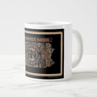 Pennsylvania Rig Up Camo Large Coffee Mug