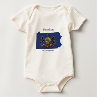 Pennsylvania spirit wear baby bodysuit