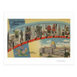 Pennsylvania (State Capital/Flower) 2 Post Cards