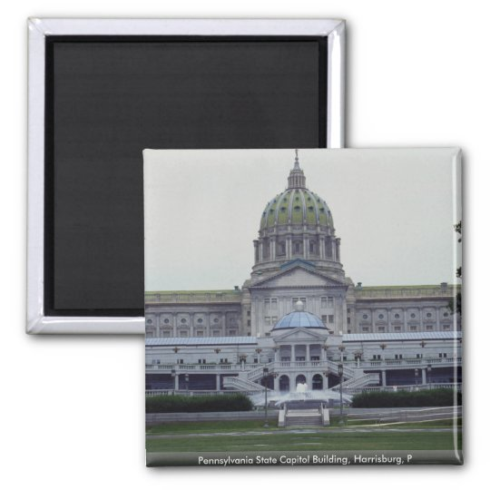 Pennsylvania State Capitol Building, Harrisburg, P Magnet