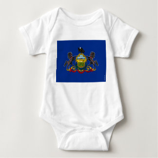 Pennsylvania State Flag Baby Bodysuit