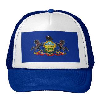 Pennsylvania State Flag Design Trucker Hat